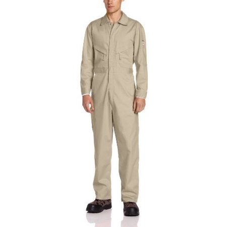 Walls Men's Flame Resistant Industrial Coverall 2-Big, Khaki, 66/Tall