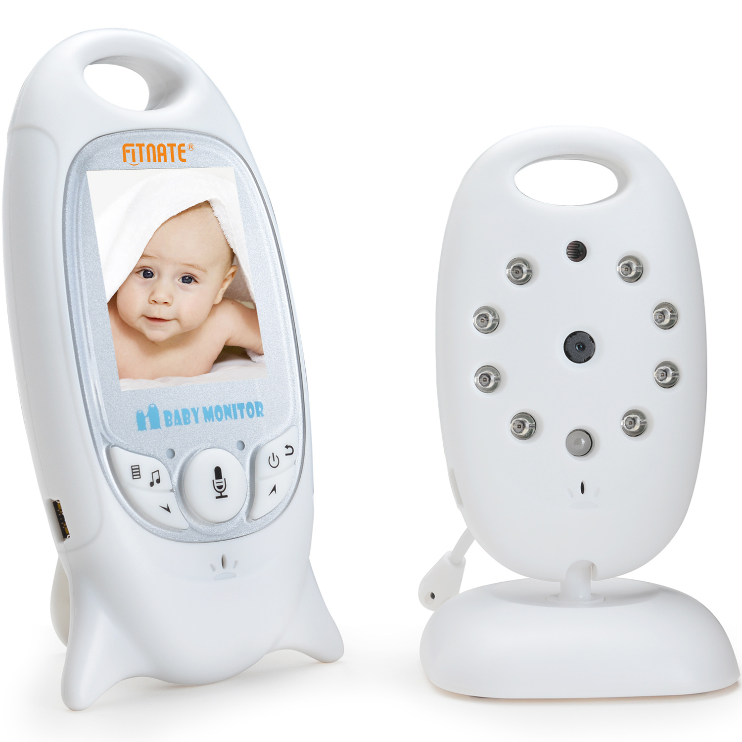 Wireless Video d igital Camera Infant Baby Monitor Night Vision Temperature Monitor