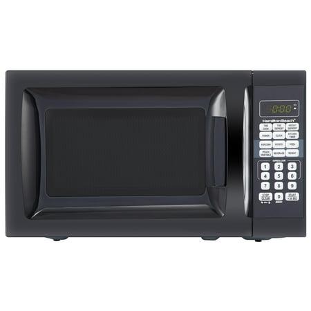 Hamilton Beach 0.7 Cu. Ft. Black Microwave Oven