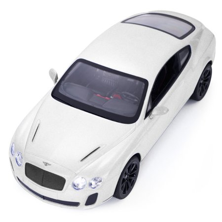 GHP 1/14 Scale White Bentley Continental GT Supersports Remote Controlled Toy