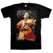 License Texas Chainsaw Massacre Black Tshirt