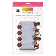 Maverix 6100 4 Textured Sheets For Chocolate And Fondant