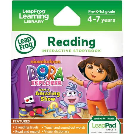 LeapFrog LeapPad Dora's Amazing Show Ultra eBook (Ez Bridge Ultra 5)