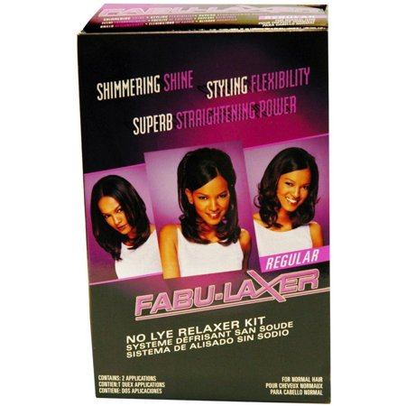 No-Lye Relaxer Kit - Regular, For Silky, Soft and Healthy Straight Hair By