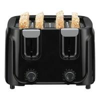 Mainstays 4 Slice Black Toaster
