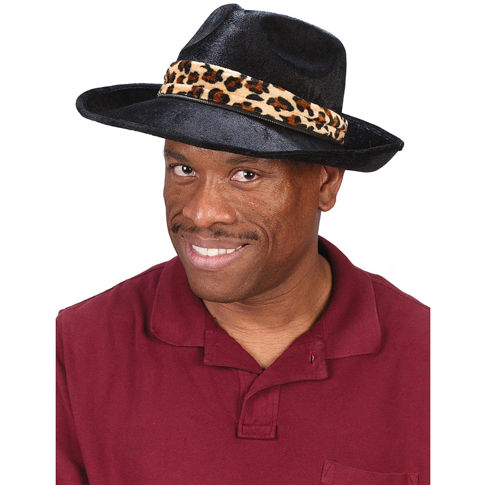 Black Hat Adult Halloween Accessory