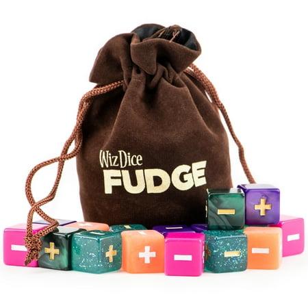Wiz Dice 20 Fudge Dice GM Starter Pack, Mystical, 5 Sets of 4 Fate