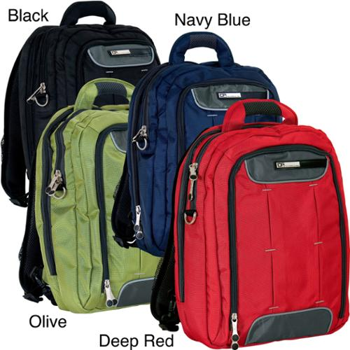 CalPak Hydro 16-inch Shoulder Backpack deep red