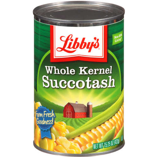 LIBBY SUCCOTASH WHOLE KERNEL CORN
