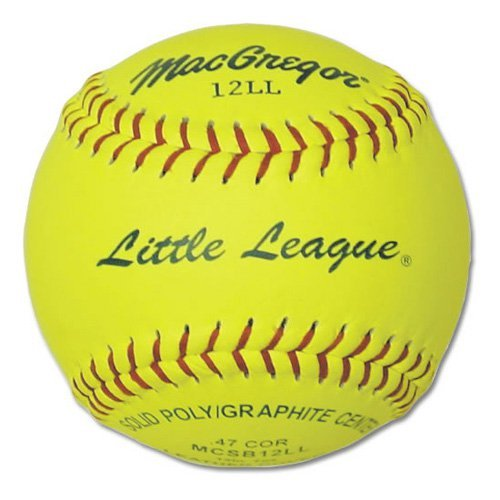 MacGregor Little League 11 in. Softballs - 1 Dozen