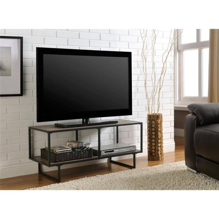emmett sonoma tv standcoffee table with metal frame for tvs up to 42