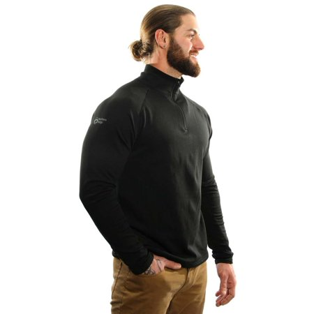 1/4 Zip Thermal (Northern Ridge Mens Thermal Fleece Pullover 1/4)