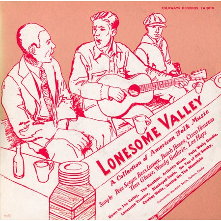 Smithsonian Folkways FW-02010-CCD Lonesome Valley- A Collection of American Folk Music