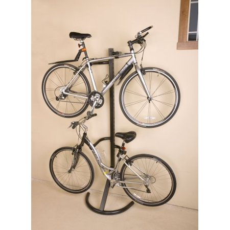 Freestanding Bicycle Rack (2 Bike Free Standing Rack Stand - Can Also Be Mounted On The Wall By Racor)