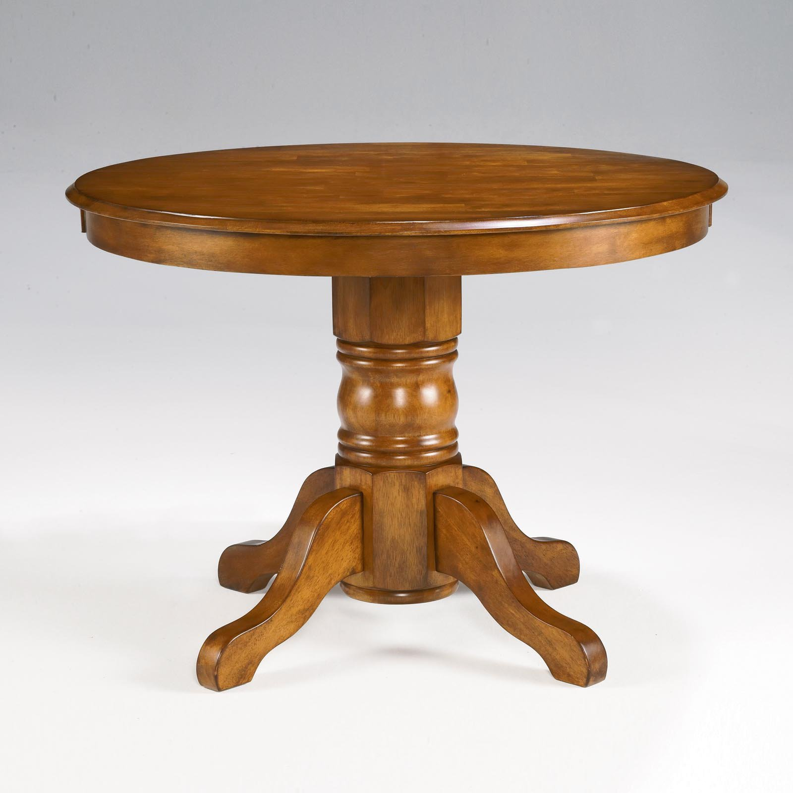 Home Styles Pedestal Dining Table, Cottage Oak   Walmart.com
