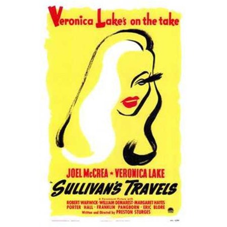 Posterazzi MOV142771 Sullivans Travels Movie Poster - 11 x 17 in. - image 1 of 1