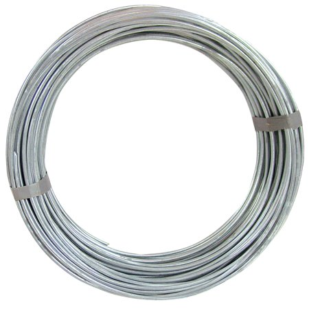 0.105 Wire (Hillman Group Inc-Ook 50140 50' 9-Gauge Galvanized Steel Hobby Wire )