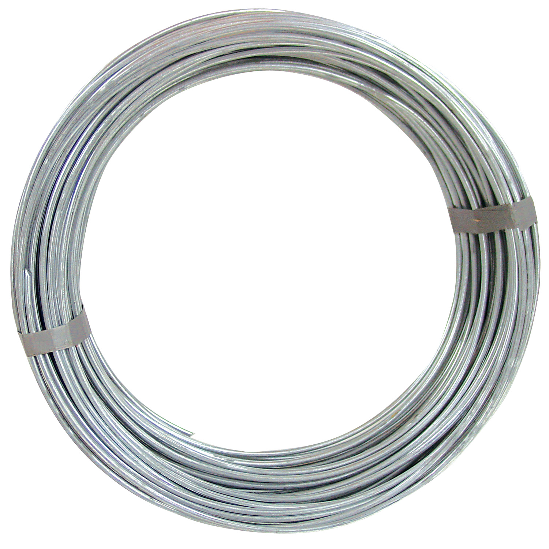 Hillman Group Inc-Ook 50140 50' 9-Gauge Galvanized Steel Hobby Wire