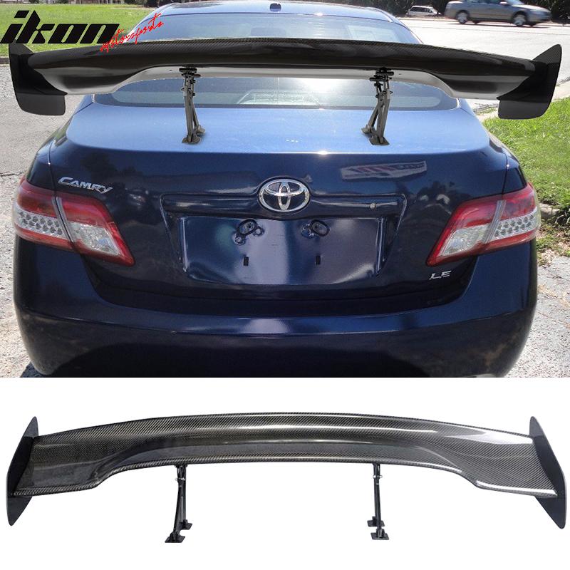 57 Inch JDM GT RS Type Carbon Fiber Deck Trunk Spoiler Wing(Toyota)