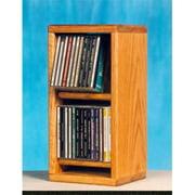 Wood Shed 206 Solid Oak Dowel Cabinet for CDs