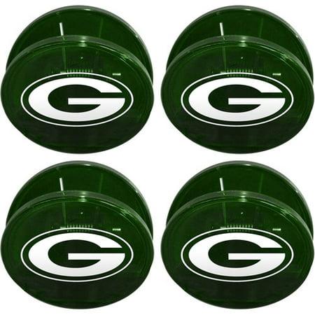 Chip Clip Set - NFL Green Bay Packers Magnetic Chip Clip Set, 4pk