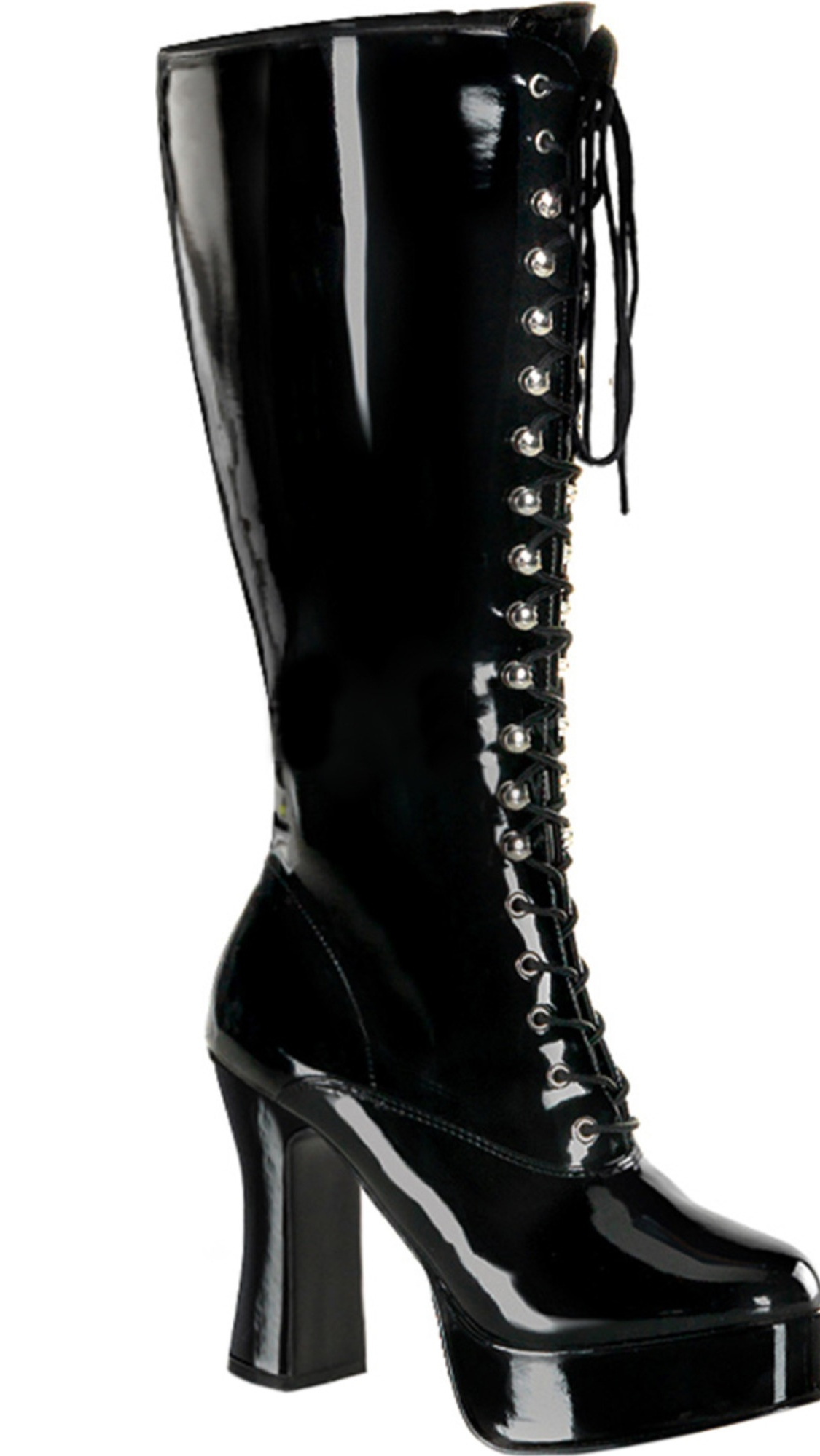 Womens Plus Size 4 Inch Sexy Wide Width Boot Wide Calf Knee High