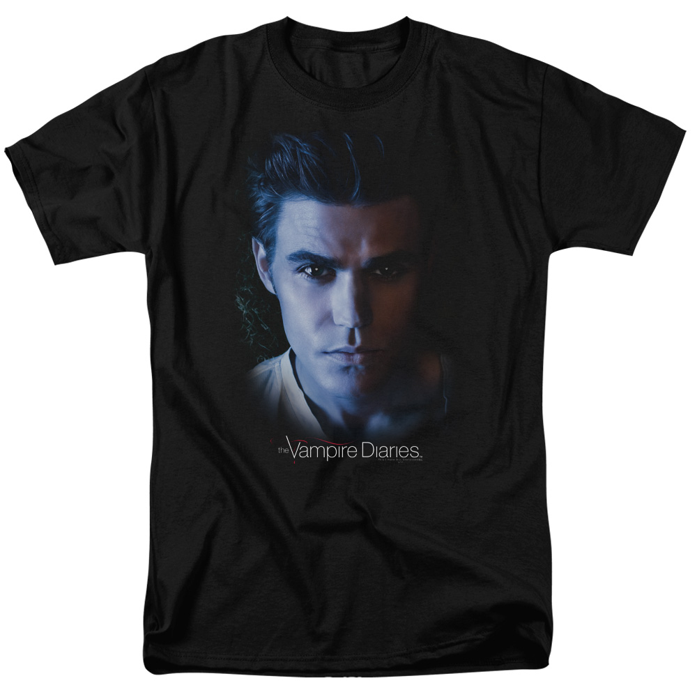 The Vampire Diaries Stefan Mens Short Sleeve Shirt