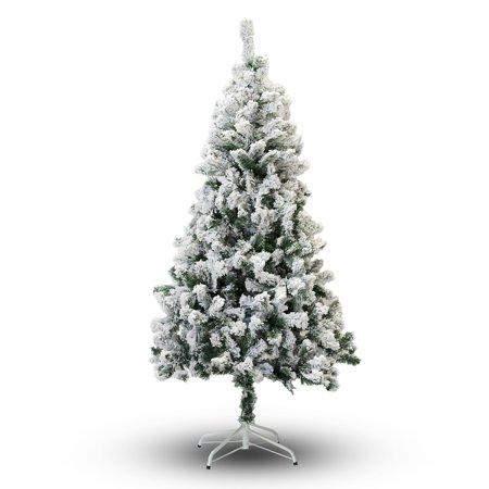Perfect Holiday 8' Snow Flocked Artificial Christmas Tree ()