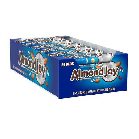 Almond Joy Chocolate Bars - 1.61oz/36ct