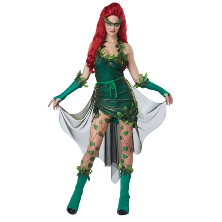 Sexy Lethal Beauty Womens Posion Ivy Halloween Costume - Poison Ivy Diy Costume