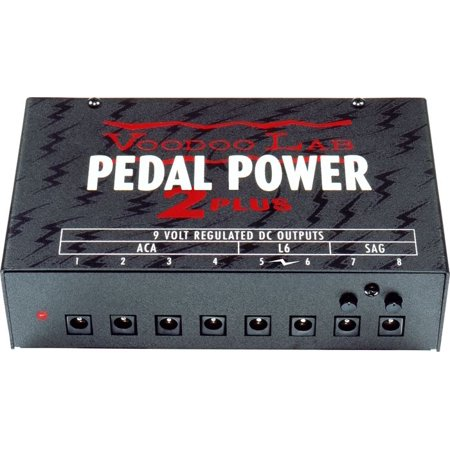 Voodoo Labs Pedal Power 2 Plus Multiunit Universal Power Supply
