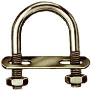 Hindley 2-.50in. X 5-.19in. Extra Long Zinc U-Bolts  41258 - Pack of 10