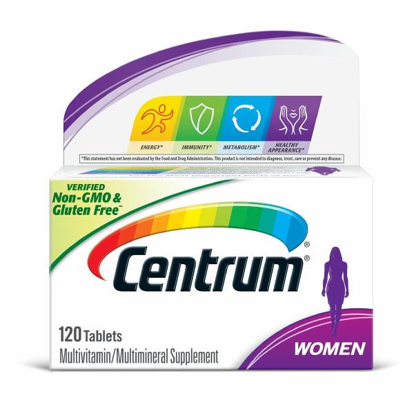 Centrum Women Multivitamin Tablets, 120 ct