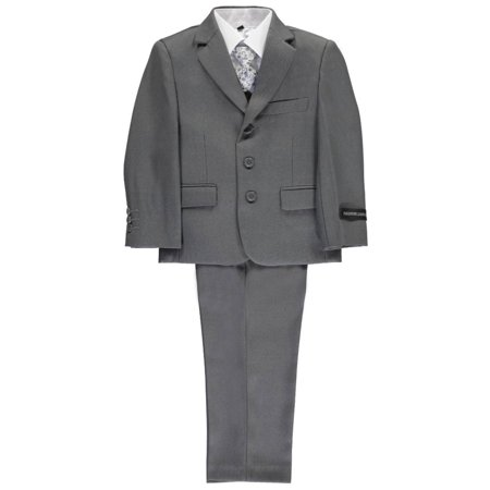 Boys Grey Suit (Kids World Little Boys'