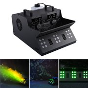 3in1 Bubble Machine, Fog Machine, Multiple Stage Effect Light,Remote Controller