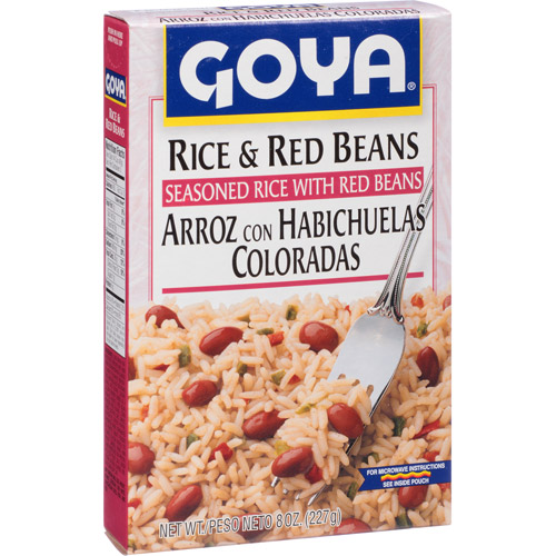Goya Rice & Red Beans Arroz con Habichuelas Coloradas, 8 oz, (Pack of 24)