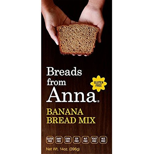 Breads From Anna Bread Mix Banana 14 OZ (Pack of 6)