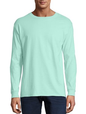 63b6046d Product Image Hanes Men's Premium Beefy-T Long Sleeve T-Shirt, up to 3xl