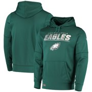 Philadelphia Eagles New Era Combine Stated Pullover Hoodie - Midnight Green