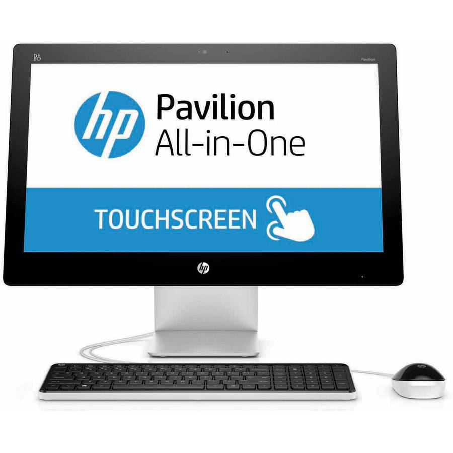 "Refurbished HP Pavilion 22-a113w All-in-One Desktop PC with Intel Pentium G3260T Processor, 4GB Memory, 21.5"" touch screen, 1TB Hard Drive and Windows 10 Home"