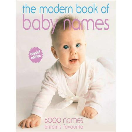 Modern Book of Baby Names - eBook