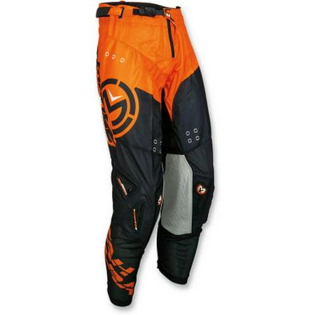 Moose Racing Sahara'18 Mens MX Offroad Pants Black/Orange 32 USA