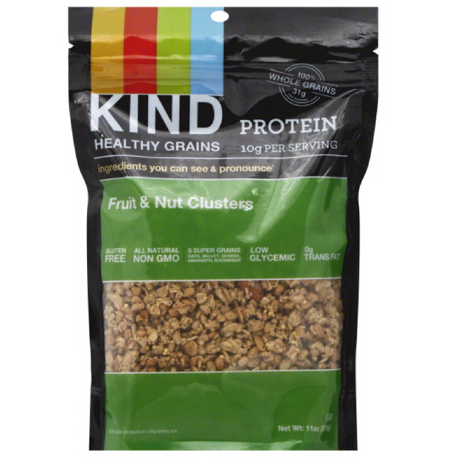KIND Healthy Grains Fruit & Nut Clusters, 11 oz, (Pack of 6)