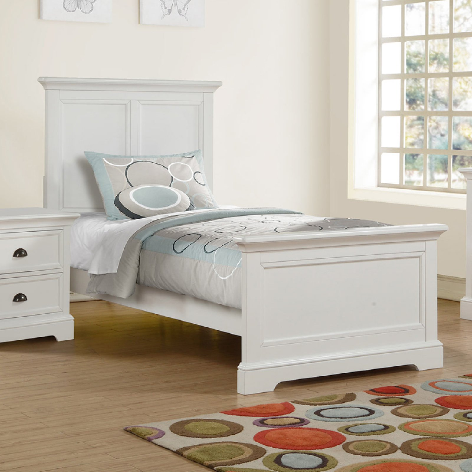 Winners Only Contemporary Panel Bed