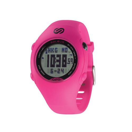 Image of Soleus Gps Mini Pink /black Watch