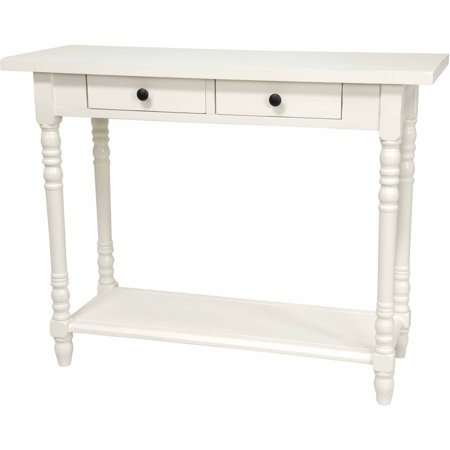 29 classic 2 drawer foyer table for White foyer table
