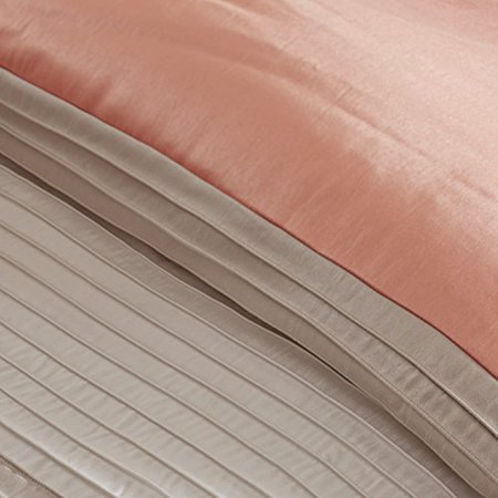 Madison Park Amherst 7 Piece California King Comforter Set, Coral - image 1 of 5
