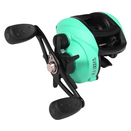 12+1 Ball Bearings Baitcasting Fishing Reel 8.1:1 Gear Ratio Fishing Bait Casting Reel thumbnail