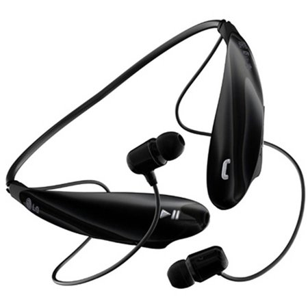 lg tone ultra bluetooth headset, black - walmart
