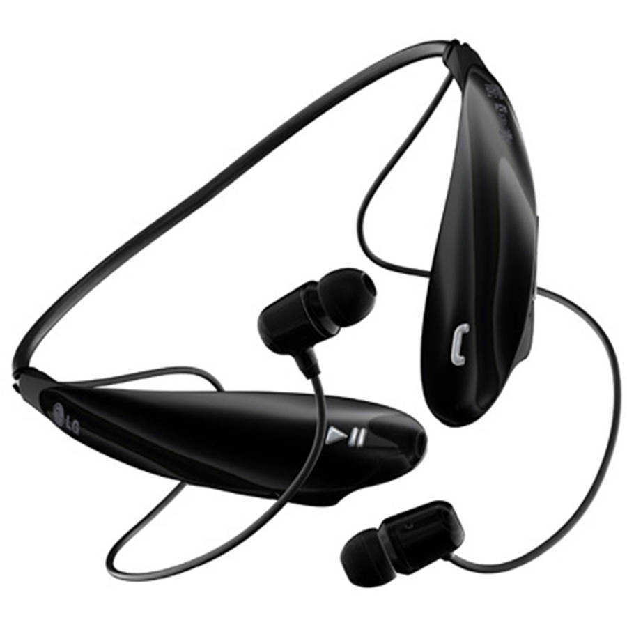 LG Tone Ultra Bluetooth Headset, Black